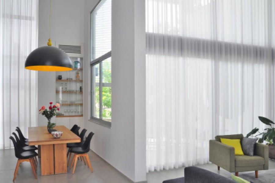 וילונות לסלון – פיתרון הצללה אפקטיבי